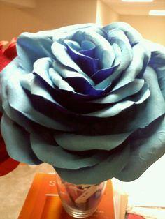 Giant Crepe Paper Rose. $35.00, via Etsy.