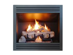 Real Fyre Built in Flueless Vent free gas fireplace
