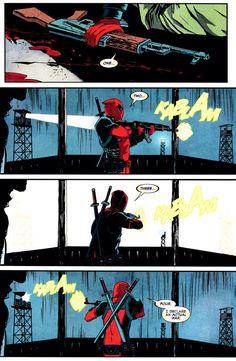 I love Deadpool...