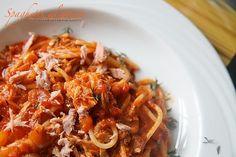 akaron Good Food, Yummy Food, Italian Recipes, Italian Foods, Lasagna, Spaghetti, Meal Planning, Chili, Curry