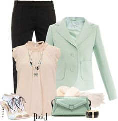 """""""Pink or Blue?"""" by dimij on Polyvore"""