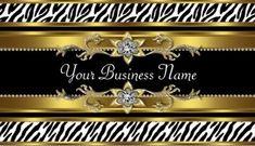 Glamorous Gold and Black Bejeweled Zebra Print Business Cards http://www.zazzle.com/gold_black_zebra_business_cards-240788343784688745?rf=238835258815790439&tc=GBCAnimal1Pin