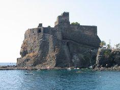 castello normanno aci castello | Veduta Aci Castello, Sicily
