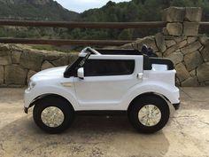COCHE INFANTIL 4 MOTORES DE 12V BMW X5 STYLE 4X4 2.4G 2 PLAZAS BLANCO. CON 4 MOTORES. Ref. 12PKCS8088W, IndalChess.com Tienda de juguetes online y juegos de jardin