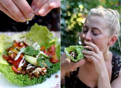 Raw Taco Fiesta! | My New Roots. Walnuts! Cashews! Wk 1 | made walnut meat 2/4/15