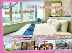 Relax & Recharge - Superb 5-Star Bangkok Hotel Package - includes Grande Centre Point Terminal 21 Hotel Accommodation with Breakfast + Dtac Happy Tourist SIM + BTS 1 Day Pass - only at HK$580/person! (package original at $1390), http://www.asiatravelcare.com/mktg/20150302_thailand_bangkok_terminal21_bts_sim_package-eng.htm