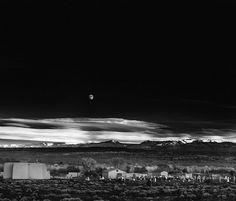 Ansel Adams, Moonrise, Hernandez, New Mexico