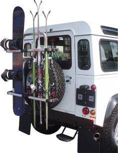 Snowboard, Defender 110, Vw Bus, Montage, Camper, Vehicles, Caravan, Travel Trailers, Motorhome