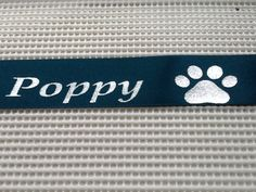 NEW Paw Prints image you can add to your rosette holder