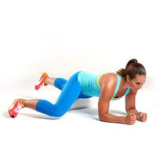 A no-gym workout for quads and outer thighs: Place left quad on foam roller, right leg bent and to the side, forearms on floor. Roll forward and backward from top of knee to hip. Thigh Toning Exercises, Toning Workouts, Easy Workouts, Stretches, Fitness Websites, Toned Legs Workout, Hip Problems, Outer Thighs, Look Here