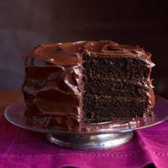 The best Chocolate layer cake