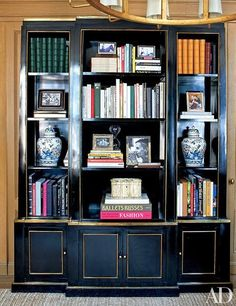 Tory Burch's glamorous Manhattan office--via Mix and Chic