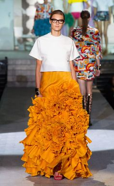 Dsquared² Spring 2015 Ready-to-Wear Collection - Vogue Only Fashion, Fashion Show, Fashion Design, 2015 Trends, Glamour, Orange Is The New Black, Spring Summer 2015, Dsquared2, Runway Fashion