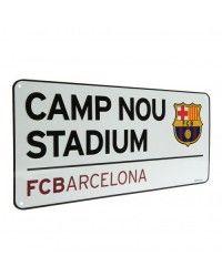 Metal Sign Barcelona