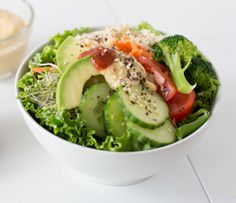 Brown rice is the perfect vehicle for this quick veggie- and sesame-loaded lunch or dinner option. Perfectly balance your plate: Serve with oz g) Coat & Cook Asian Tofu. Side Recipes, Clean Recipes, Easy Healthy Recipes, Healthy Dinner Recipes, Quesadillas, Epicure Recipes, Cooking Recipes, Dinner Options, Mixed Vegetables