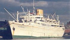 The Elder Dempster liner AUREOL of 1951
