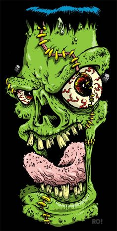 Bahaaaaaaa! Arte Horror, Horror Art, Graffiti Drawing, Art Drawings, Teddy Bear Tattoos, Punk Poster, Zombie Art, Desenho Tattoo, Lowbrow Art