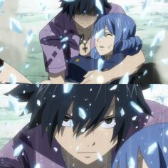Gray and Juvia || Fairy Tail || Gruvia || Gray saving Juvia from Ultear