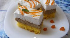 Diós habos szelet   Receptkirály.hu Cheesecake, Desserts, Dios, Tailgate Desserts, Deserts, Cheesecakes, Postres, Dessert, Cherry Cheesecake Shooters