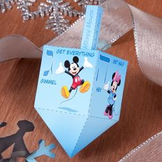 Mickey & Friends Dreidel