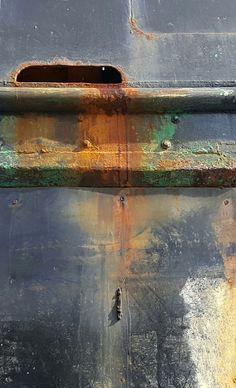Boatyard rust-Port Townsend, WA-dm
