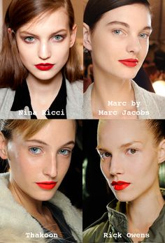 Classic red lipstick never gets old. Wear it matte or gloss it up.