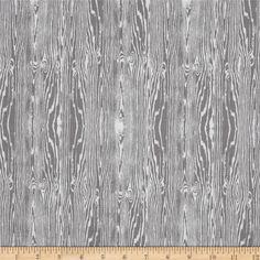Joel Dewberry True Colors Wood Grain Grey