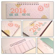Wochentischkalender für 2014