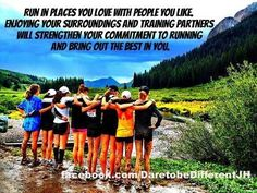 This is what I love about coaching my middle school cross country girls! www.greennutrilabs.com
