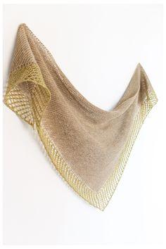 Ravelry: Serotinal shawl with Holst Garn Noble - knitting pattern by Janina Kallio.