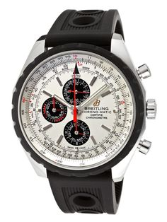 Automatic Chronograph Silver Dial Men's Watch by Breitling at Gilt
