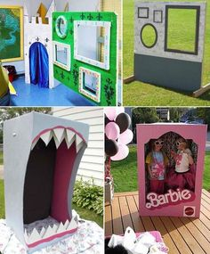 DIY Your Own Photobooth | Classic Kids Party Ideas For The Homesteading Family
