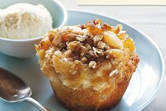 Reduced-fat Apple Muffins Recipe - if you have pie apples at home, then you will be able to make these delicious muffins, as everything else is a pantry-essential. Perfect to satisfy a sugar craving whilst still staying on track