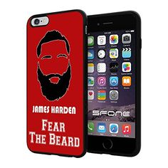 """NBA Basketball Player James Edward Harden, Jr. Houston Rockets, Cool iPhone 6 Plus (6+ , 5.5"""") Smartphone Case Cover Collector iphone TPU Rubber Case Black Phoneaholic http://www.amazon.com/dp/B00WFQ3EAA/ref=cm_sw_r_pi_dp_ywNpvb1BS5HVC"""