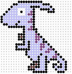 Dinosaur Perler Bead Patterns