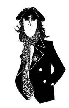 John Lennon   by Felipencil