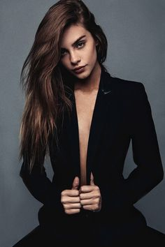 Bridget Satterlee #suit #style #fashion
