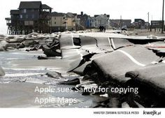 Apple sues Sandy for copying Apple Maps