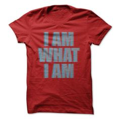 I AM WHAT I AM - #pink tee #creative tshirt. LIMITED TIME PRICE => https://www.sunfrog.com/LifeStyle/I-AM-WHAT-I-AM.html?68278
