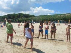 balli di gruppo !!! #interntionalcamping #pineto #abruzzo #italy #spiaggia #beach #sea #mare #sabbia #estate #divertimento #allegria #sole #sun #summer