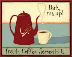 Fresh coffee served hot! Good morning