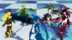 Anime recomendado: Black Rock Shooter (+16)