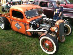 Rat Rod Orange Crush, Boonesboro, Ky.