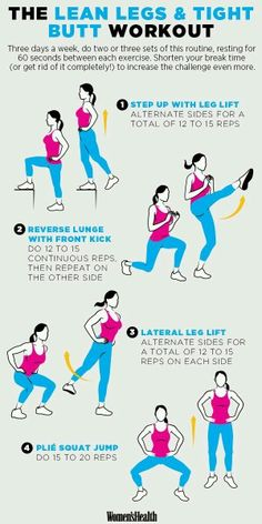 Leg and Booty Workout | Posted by: NewHowtoLoseBellyFat.com