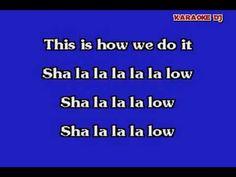 This is how we do it - Montell Jordon (karaoke) - YouTube