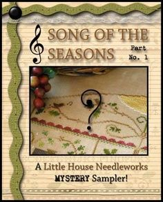 Cross Stitch Samplers, Counted Cross Stitch Patterns, Little House Needleworks, Christian Companies, Gospel Of John, Pattern Names, Counting, Seasons, Songs