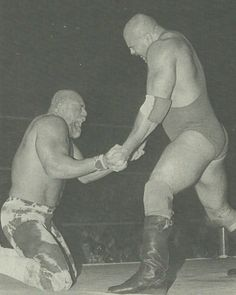 2 of my number 1's..Superstar Billy Graham and The Russian Nightmare Nikita-Koloff