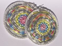 OOAK Rainbow shiny exotic summer round by CreativeAccessorise