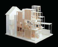 Model. House NA, Suginami-ku, Tokyo, Japan , 2007-2011.