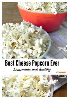 Best Cheese popcorn ever, homemade and healthy #RecipeMakeover